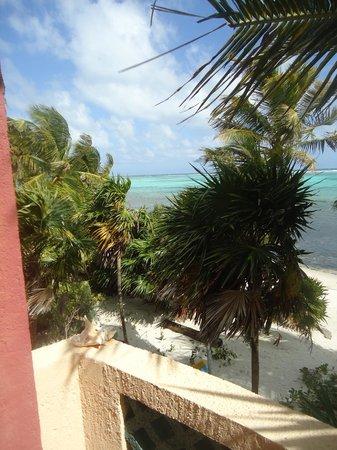 Sin Duda Villas :                   balcony view north