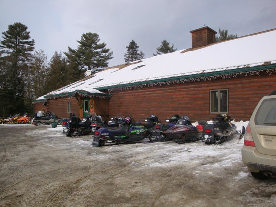 Northern Outdoors Adventure Resort:                   The lodge is open to anyone and is right on 201.
