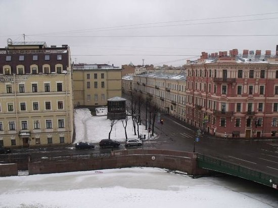 Domina St.Petersburg:                   View over the frozen Moika River