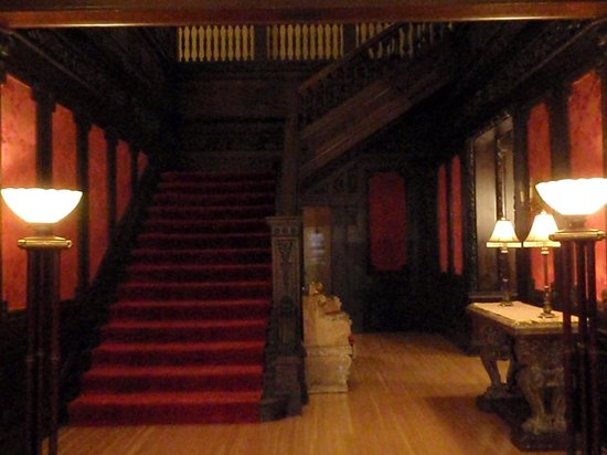 Cotton Mansion:                   The grand staircase