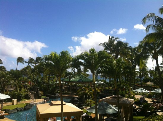 Grand Hyatt Kauai Resort and Spa:                   View from room