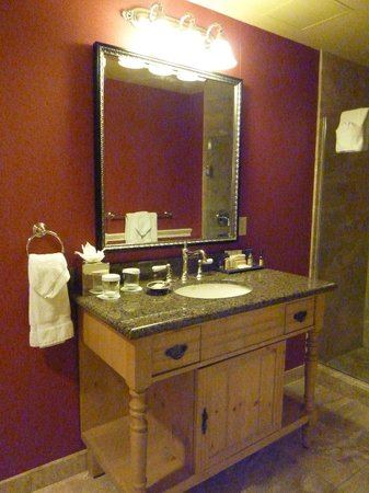 Wentworth by the Sea, A Marriott Hotel & Spa:                   Bathroom Vanity, Wentworth by the Sea ~ New Castle, NH