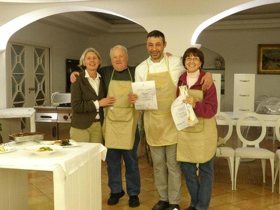 هوتل فيلا رومانا:                   Cooking class graduation                 