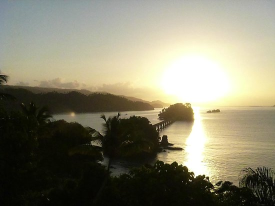 Grand Bahia Principe Cayacoa:                   A wonderful sunrise - 630am