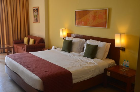 Dona Paula, Hindistan:                   Our room