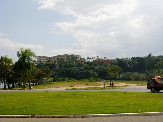 Grand Bahia Principe Cayacoa:                   The Hotel, seen from the town across the bay
