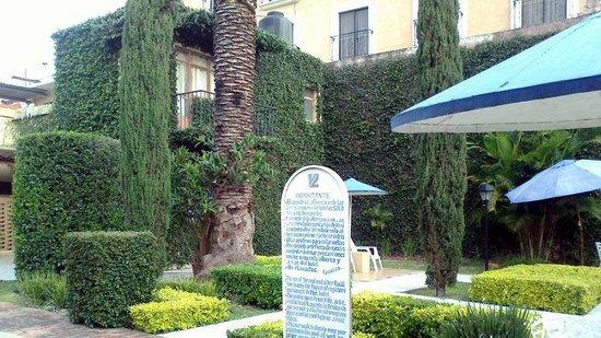 Apartments Villa de Campo:                   Nice gardens