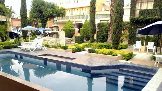 Apartments Villa de Campo :                   Near swimming pool and parking lot