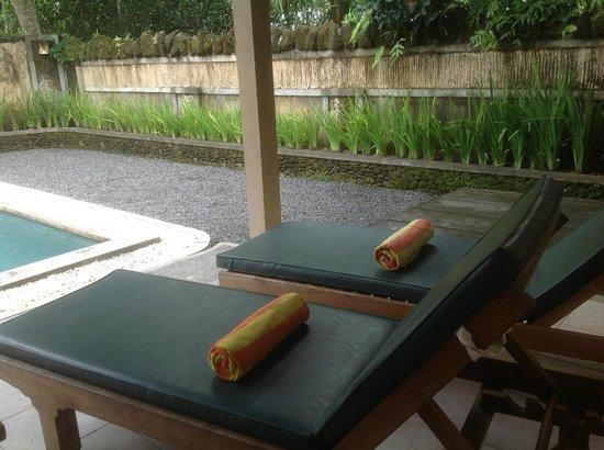 Nefatari Exclusive Villas:                   Private pool with deck