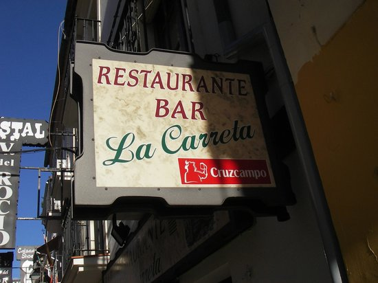 Restaurante Abrasador la Carreta:                   C/ Nueva 18, Ronda