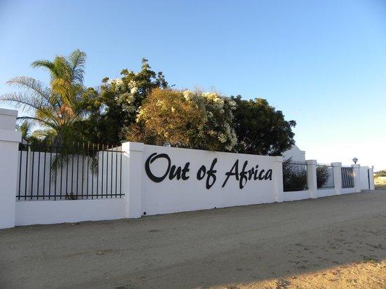 Out of Africa Town Lodge: Entrée de l'hôtel