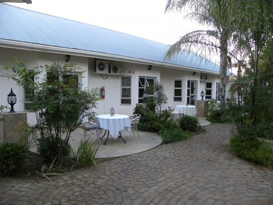 Out of Africa Town Lodge: Les chambres