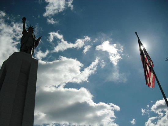 Statue of Liberty Replica:                   View