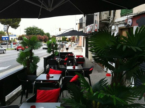 The Soho Bar: Soho terrace