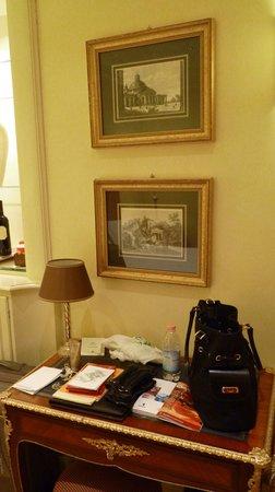 Hotel Villa Duse: décoration