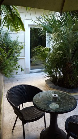Hotel Villa Duse: jardin privatif