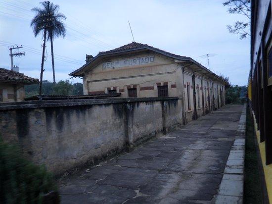 Passeio de Maria Fumaca Campinas - Jaguariuna:                                     antiga estação