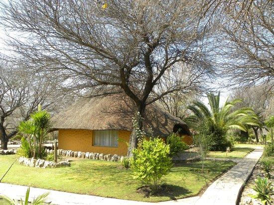 Khorab Safari Lodge : Une chambre