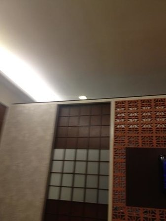 Courtyard @ Heeren Boutique Hotel :                   wall do not separate room and toilet completely.