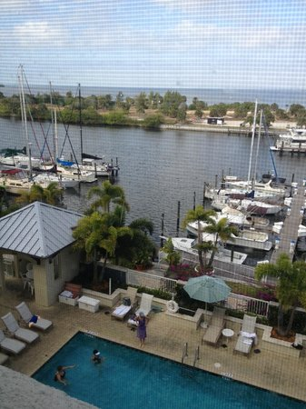 The Inn at Little Harbor:                                     View from 4th floor balcony