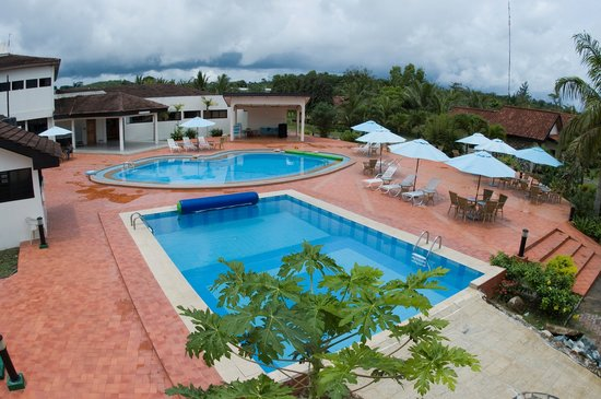 Busua Waves Resort:                   THE SWIMMING POOLS  FOR ADULTS AND KIDS