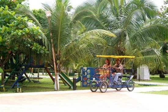 Busua Beach Resort:                   THE GUESTS ARE ON A RIDE
