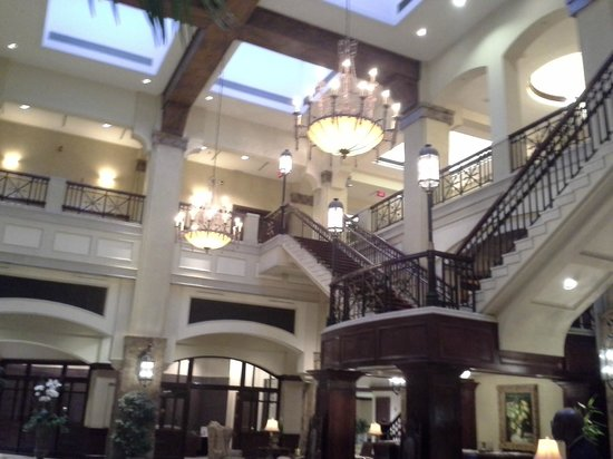 Grandover Resort and Conference Center:                   Grand lobby