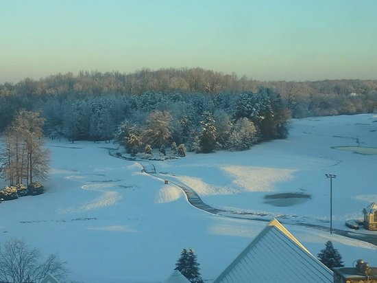 Grandover Resort , Golf, Spa & Conference Center :                   After an unusual snow storm.
