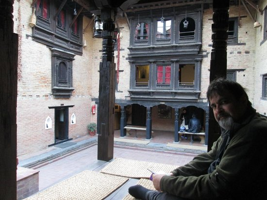 Newa Chen:                                     the courtyard inside the house