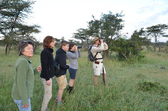 Naboisho Camp, Asilia Africa:                                     Roelof's walking safari