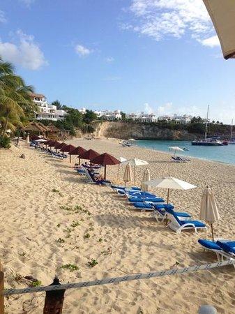 Belmond La Samanna:                   beautyful beach