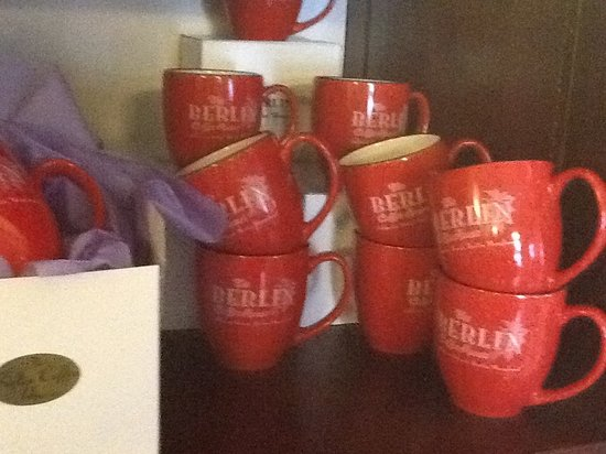 Berlin Coffee House: We sell mugs as well as the best coffee