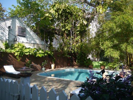 Duval Inn:                   Great pool area...