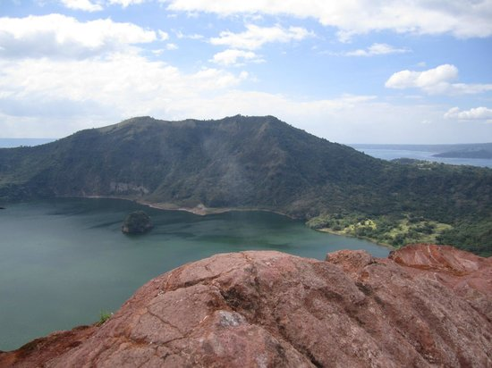 Taal Volcano:                   Taal - walk around the vendors and find the path that takes you just a little