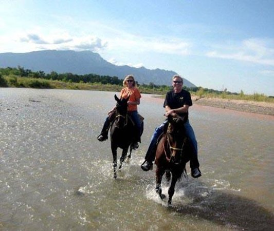Tamaya Mist Spa & Salon:                   Riding on the river!