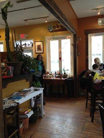 Mokka Coffeehouse :                   inside