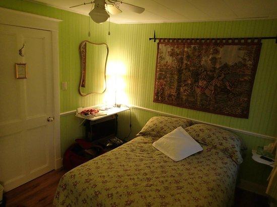 Gîte Fleury :                   la chambre verte