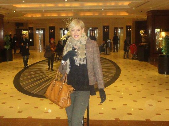London Hilton on Park Lane:                   Lobby