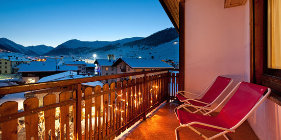 Hotel Bernina : Vista panoramica terrazzo Hotel
