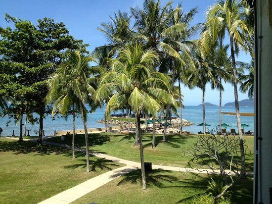 Shangri-La's Tanjung Aru Resort & Spa:                   View from Room