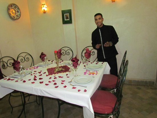 Riad Matins de Marrakech:                                     Hamed