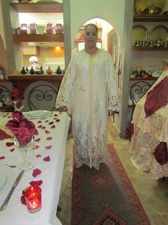 Riad Matins de Marrakech:                                     La jolie Kamar