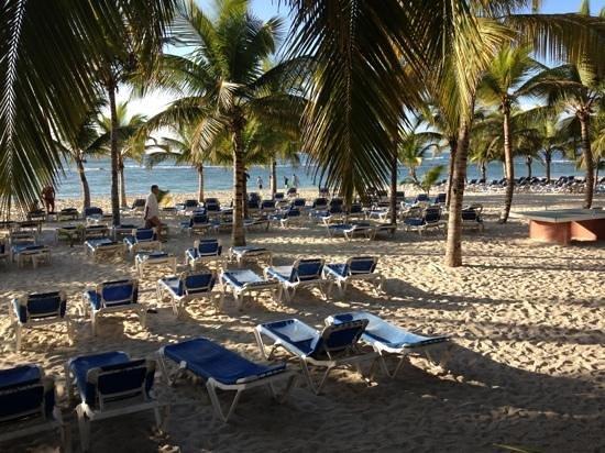 Coral Costa Caribe Resort & Spa:                   praia do hotel, às 8 da manhã