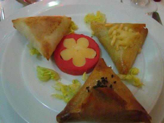 Riad Matins de Marrakech:                                     repas du soir