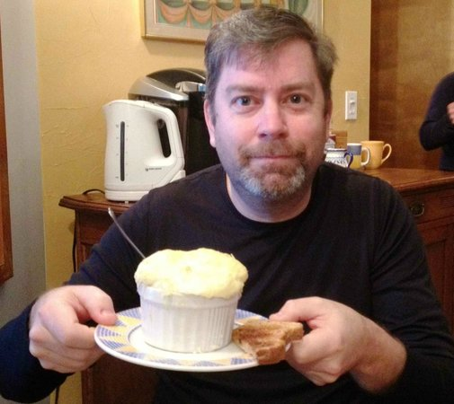 Inn at Clifftop Lane:                   Cheese Soufle