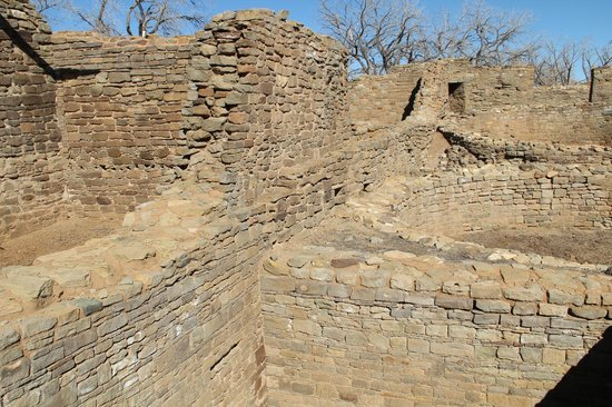 Aztec Ruins National Monument:                   Interior is accessible on foot.