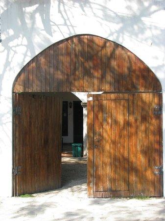 Hostel Ka'beh:                   Front door