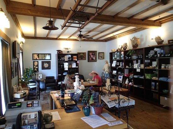 Berlin Coffee House, displaying local work during a 'Second Friday Art Stroll'