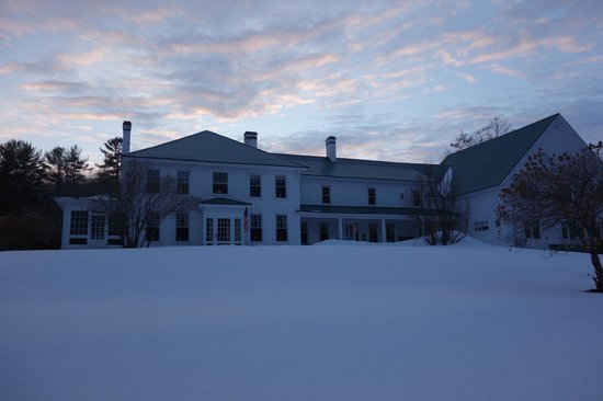 Greenwood Manor Inn in winter