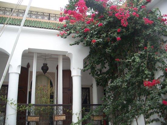 Riad Noor Charana:                   Innenhof